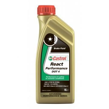 LICHID DE FRÂNĂ CASTROL REACT PERFORMANTA DOT 4, 1 L